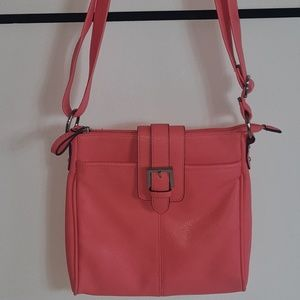 Merona Coral Cross body  Bag